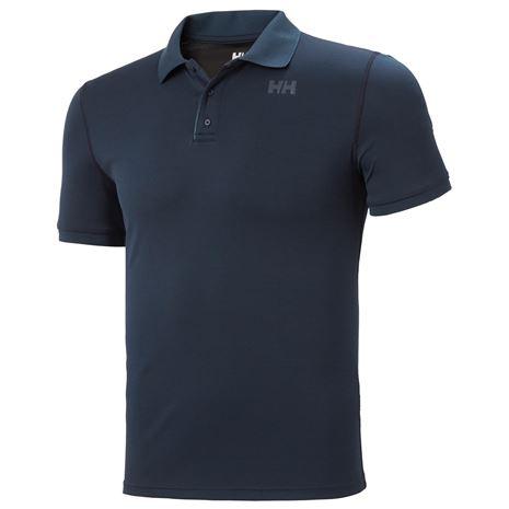 Helly Hansen HH Lifa Active Solen SS Polo Shirt - Navy