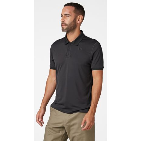 Helly Hansen HH Lifa Active Solen SS Polo Shirt - Ebony