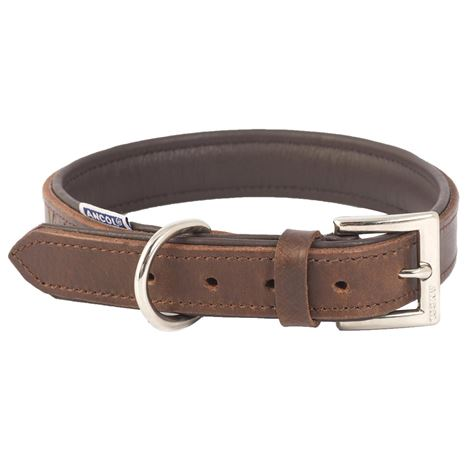 Ancol Vintage Padded Leather Collars and Lead