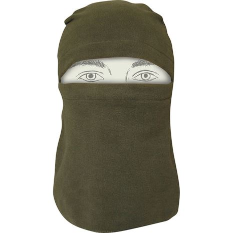 Jack Pyke Fleece Head Over - Olive Green