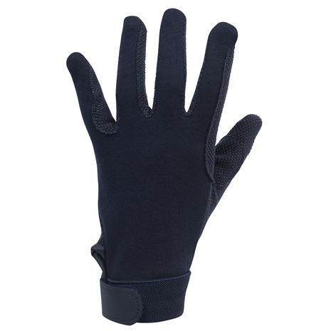 Dublin Track Riding Gloves - Navy