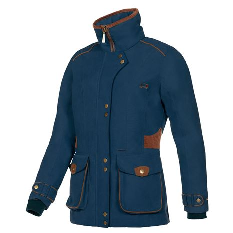 Baleno Ladyfield Jacket - Navy Blue/Earth Brown