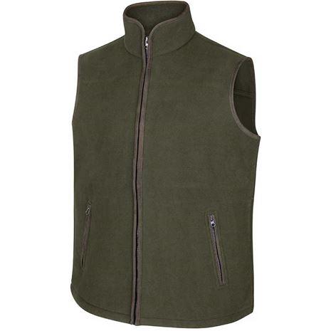 Hoggs of Fife Woodhall Fleece Gilet - Green