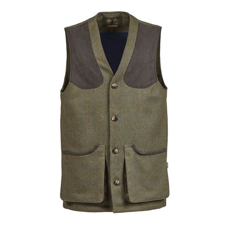 Musto Lightweight Machine Washable Technical Tweed Waistcoat - Cairngorm