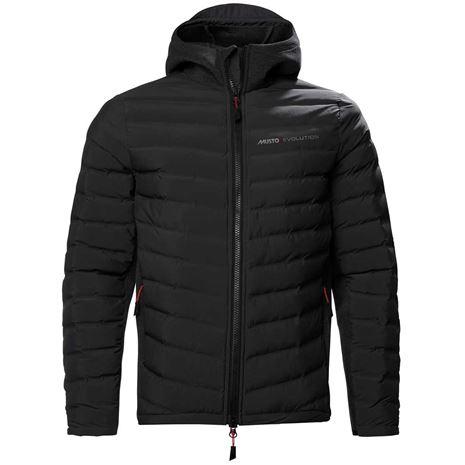 Musto Evolution Loft Hooded Jacket - True Black