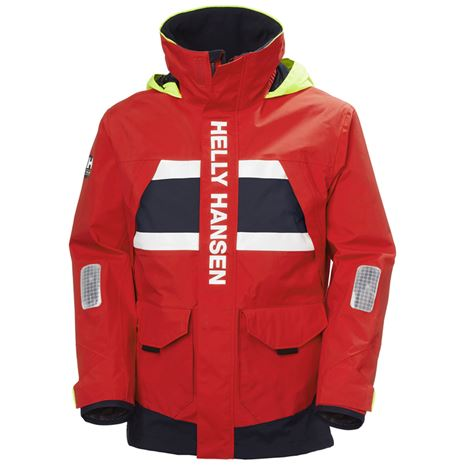 Helly Hansen Salt Coastal Jacket - Alert Red