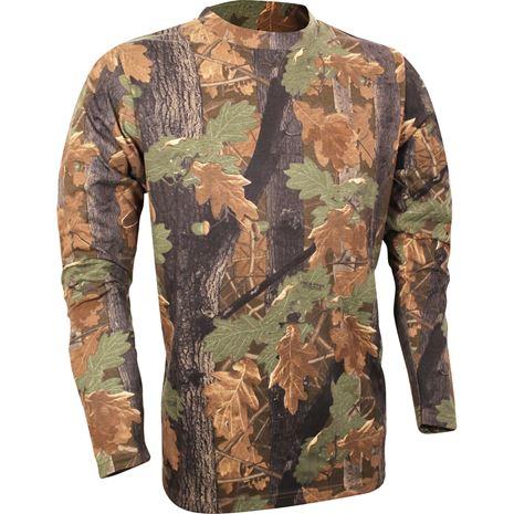 Jack Pyke Long Sleeve T-Shirt - English Oak Camo
