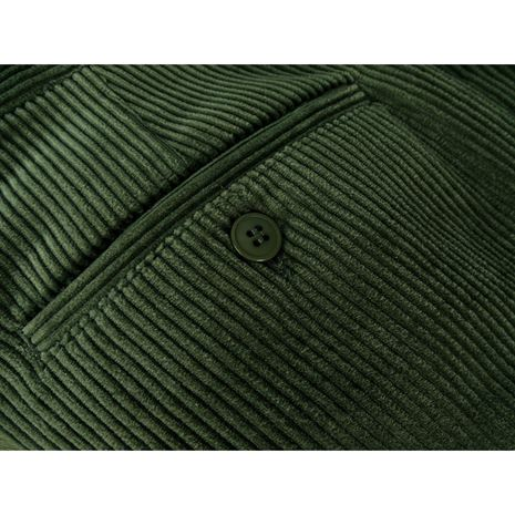Hoggs of Fife Heavyweight Cord Trousers - Dark Olive