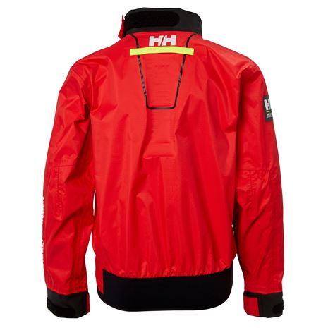 Helly Hansen Jr HP Smock Top 2.5 - Alert Red - Rear