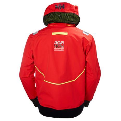 Helly Hansen Aegir Race Smock - Alert Red - Rear
