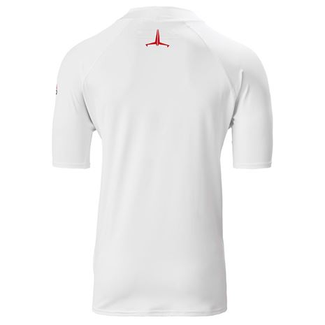 Musto Insignia UV Fast Dry Short Sleeve T-Shirt - White