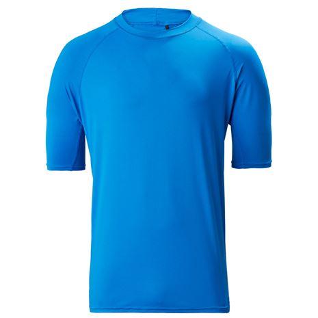 Musto Insignia UV Fast Dry Short Sleeve T-Shirt - Brilliant Blue