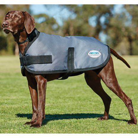 WeatherBeeta Comfitec Classic Parka Dog Coat - Dark Grey
