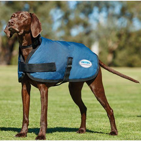WeatherBeeta Comfitec Classic Parka Dog Coat - Dark Blue