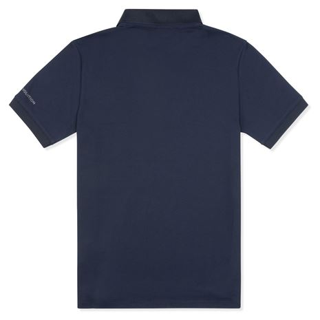 Musto Evolution Pro Lite Plain Short Sleeve Polo Shirt - True Navy