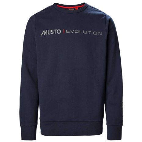 Musto Evolution Logo Crew Sweat - True Navy