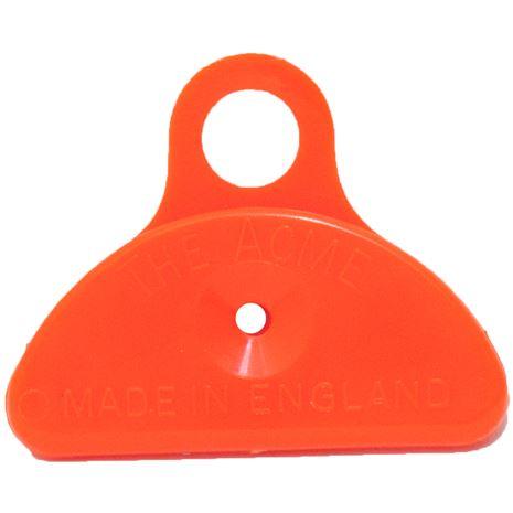 Acme Shepherds Mouth Plastic Whistle - Orange
