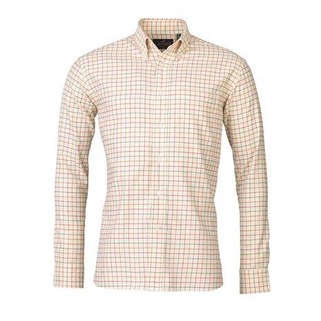 Laksen Monty Shirt - Red/Spice/Green