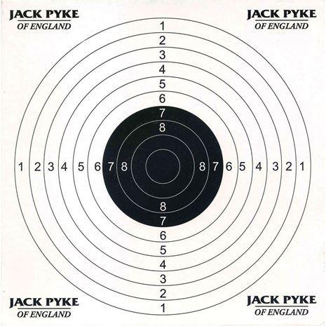 Jack Pyke Steel Paper Target Holder & Pellet Catcher