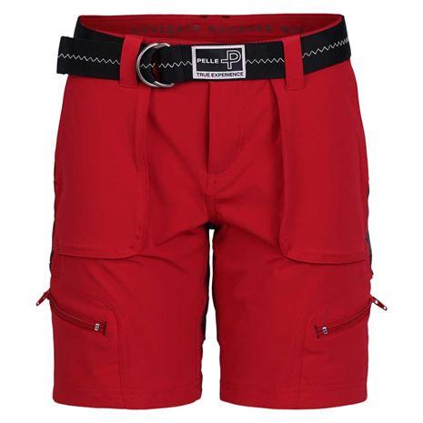 Pelle P Women's 1200 Bermuda Shorts - Race Red