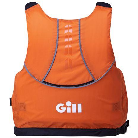 Gill Pro Racer Buoyancy Aid - Orange - Rear