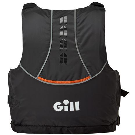 Gill Pro Racer Buoyancy Aid - Black/Orange - Rear