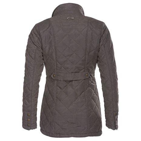 Baleno Cheltenham Women Jacket - Dark Olive - Rear
