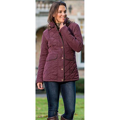 Baleno Cheltenham Women Jacket - Plum