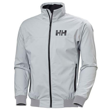 Helly Hansen HP Racing Wind Jacket - Grey Fog