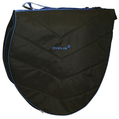 Dublin Imperial Saddle Bag - Black/Blue