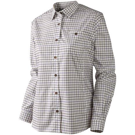 Harkila Lancaster Lady Shirt - Blackberry Check