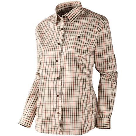 Harkila Lancaster Lady Shirt - Red Check
