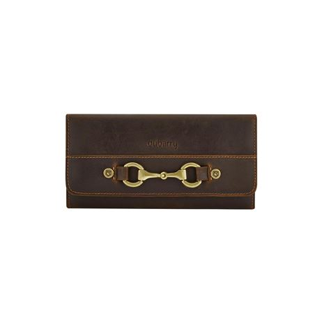 Dubarry Cong Leather Ladies Wallet - Mahogony