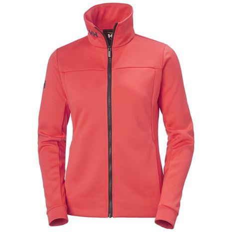 Helly Hansen Women's Crew Fleece Jacket - Hot Coral