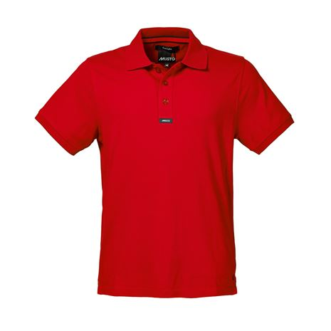 Musto Pique Polo - True Red