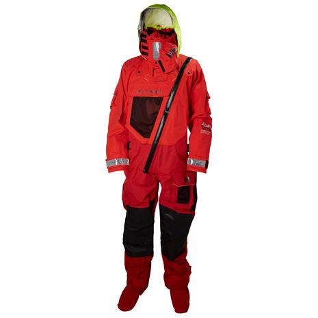 Helly Hansen Aegir Ocean Dry Suit - Alert Red