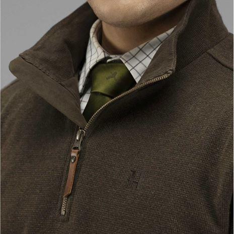 Harkila Retrieve HSP Pullover -Dark Warm Olive