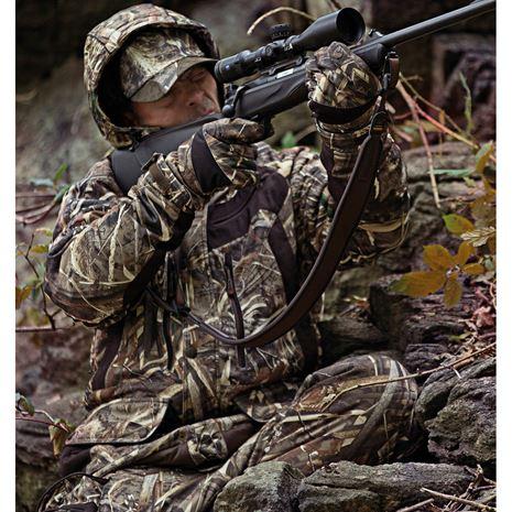 Deerhunter Muflon Jacket - Long - Realtree Max-5 Camo - Lifestyle
