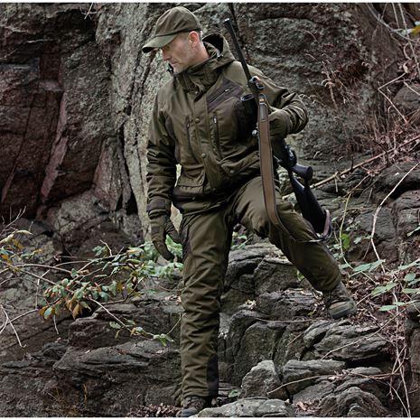 Deerhunter Muflon Jacket - Long - Art Green - Lifestyle