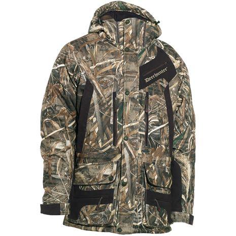 Deerhunter Muflon Jacket - Long - Realtree Max-5 Camo - Front