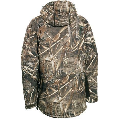Deerhunter Muflon Jacket - Long - Realtree Max-5 Camo - Rear