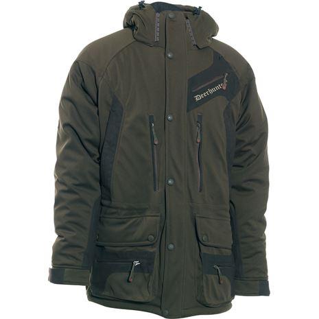 Deerhunter Muflon Jacket - Long - Art Green - Front