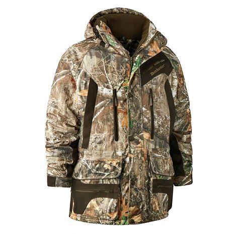 Deerhunter Muflon Jacket - Long - Realtree Edge Camo - Front