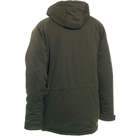 Deerhunter Muflon Jacket - Long - Art Green - Rear