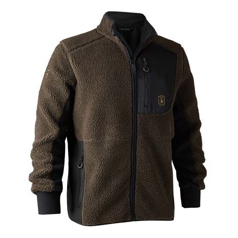 Deerhunter Rogaland Fiber Pile Jacket - Chocolate Brown