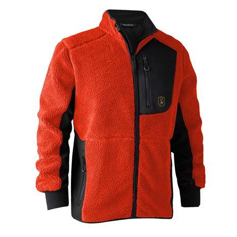 Deerhunter Rogaland Fiber Pile Jacket - Orange