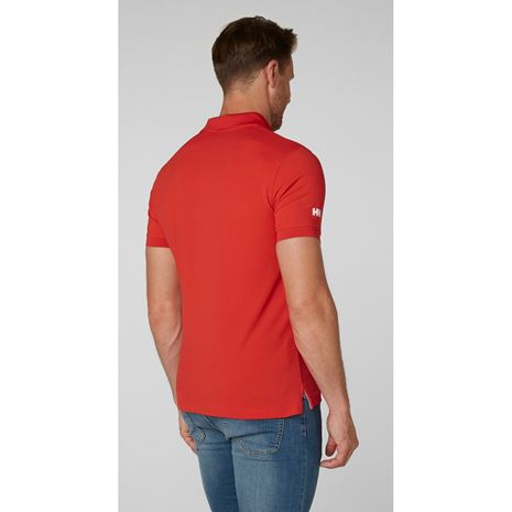 Helly Hansen Crewline Polo Shirt - Alert Red