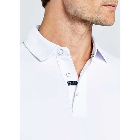 Dubarry Menton Men's Technical Polo Shirt - White