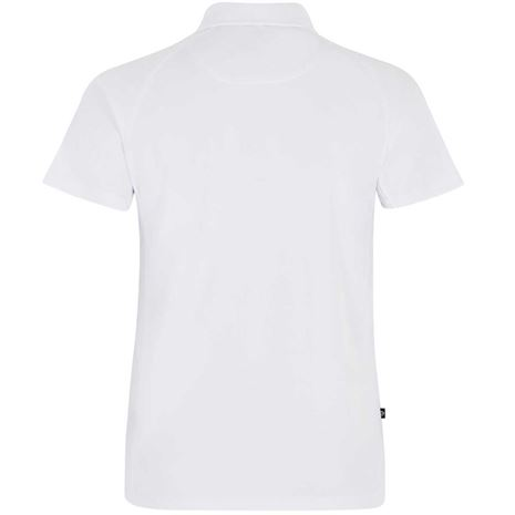 Dubarry Menton Men's Technical Polo Shirt - White - Rear