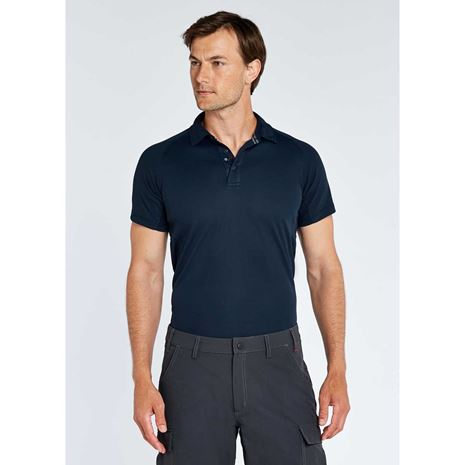 Dubarry Menton Men's Technical Polo Shirt - Navy